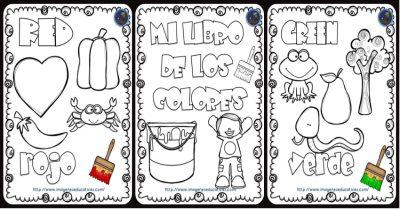 Mi Libro De Los Colores Para Colorear Imagenes Educativas