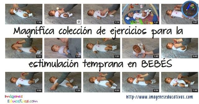 Magnífica Colección De Ejercicios Para La Estimulación Temprana En Bebés Imagenes Educativas
