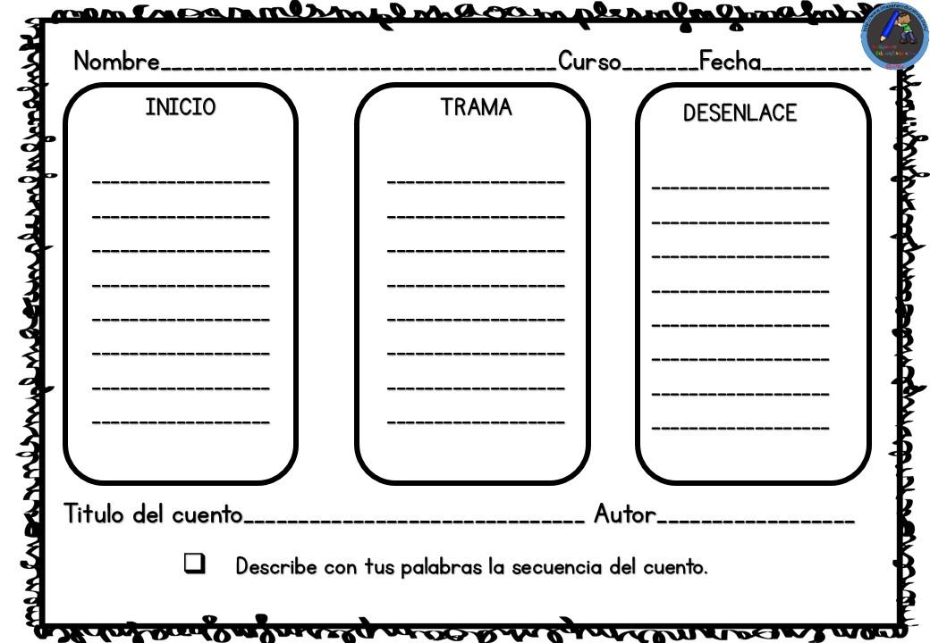 Caperucita Roja Fichas De Comprensión Lectora 2 Imagenes Educativas