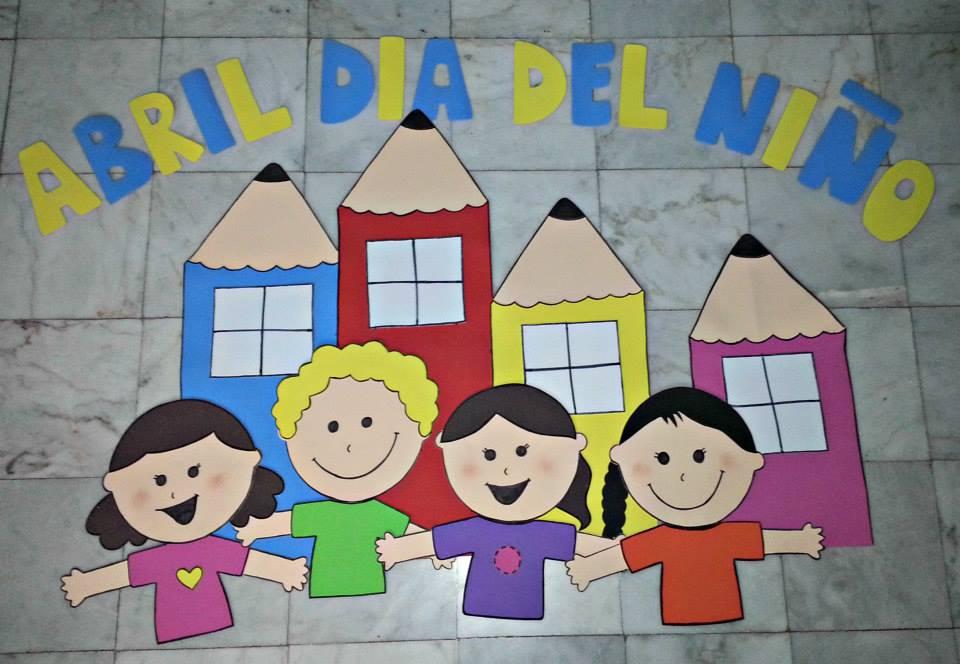 Periodico mural mes de abril 2 imagenes educativas for Murales faciles y creativos
