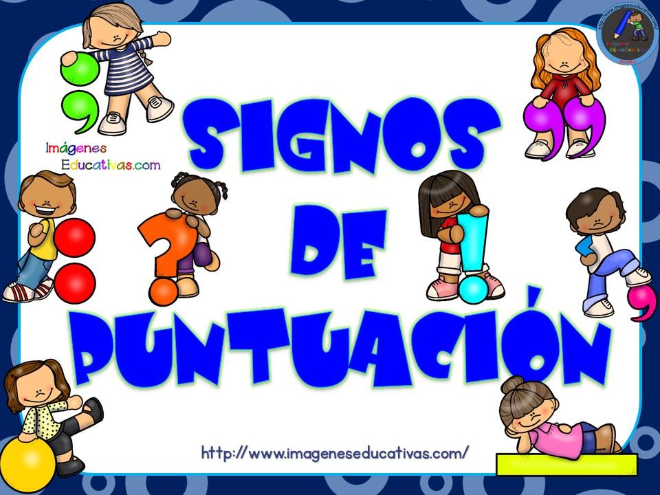 Imagenes De Signos De Puntuacion Para Colorear