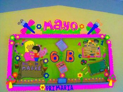 Construyendo El Periodico Mural Mes De Mayo Mes Del Las Madres Y De