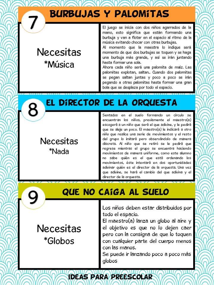 33 JUEGOS PARA NIÑOS (4) - Imagenes Educativas