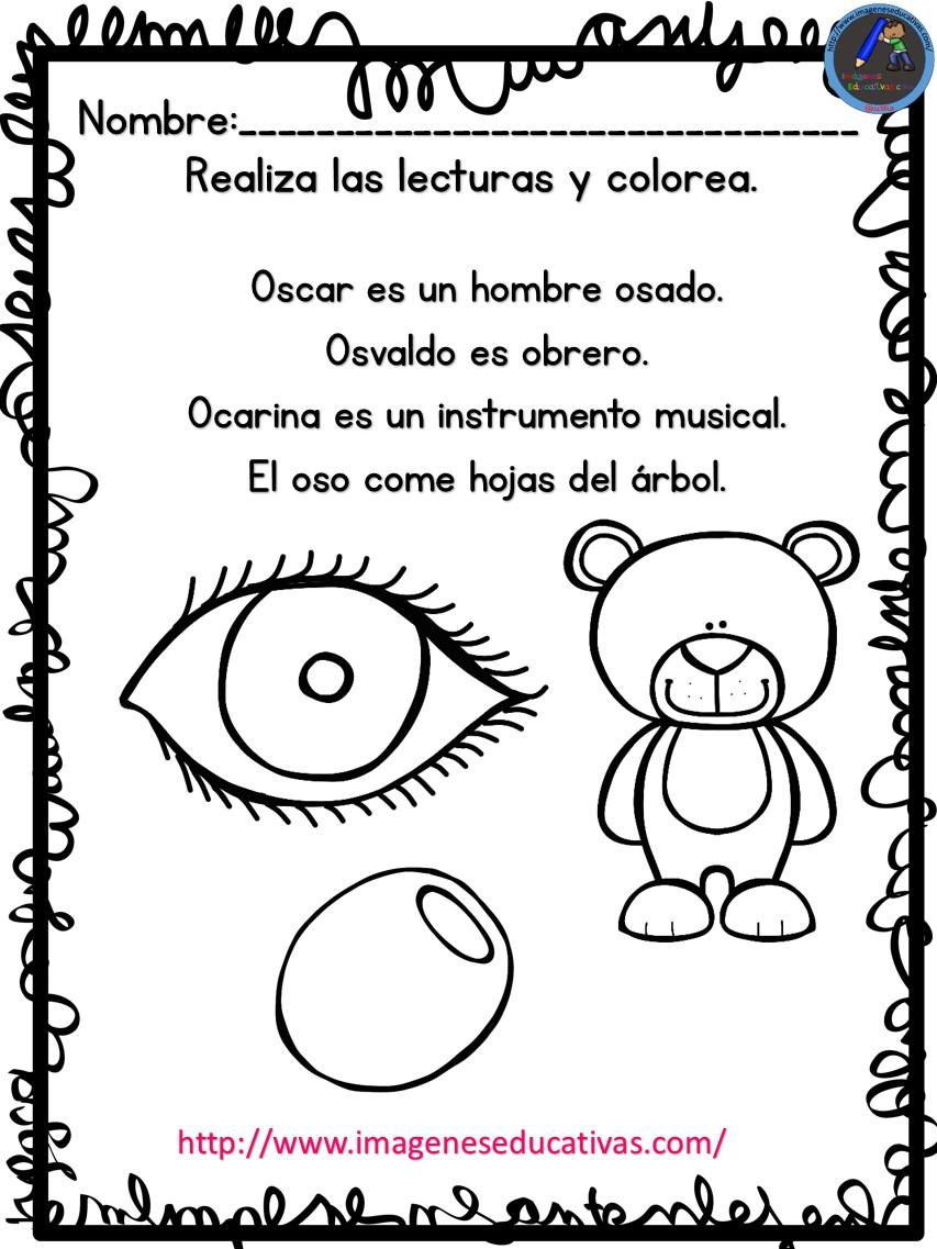 Lujoso Hojas De Trabajo Para Colorear Para El Grado 1 Colección de ...