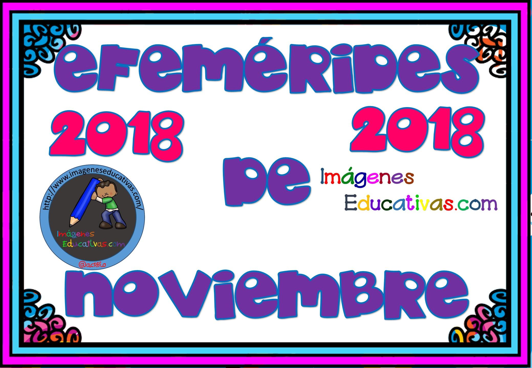 Efem rides noviembre 2018 1 imagenes educativas - Mes noviembre 2017 ...