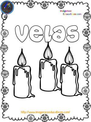 Librito para colorear el Día de los muertos - Imagenes Educativas