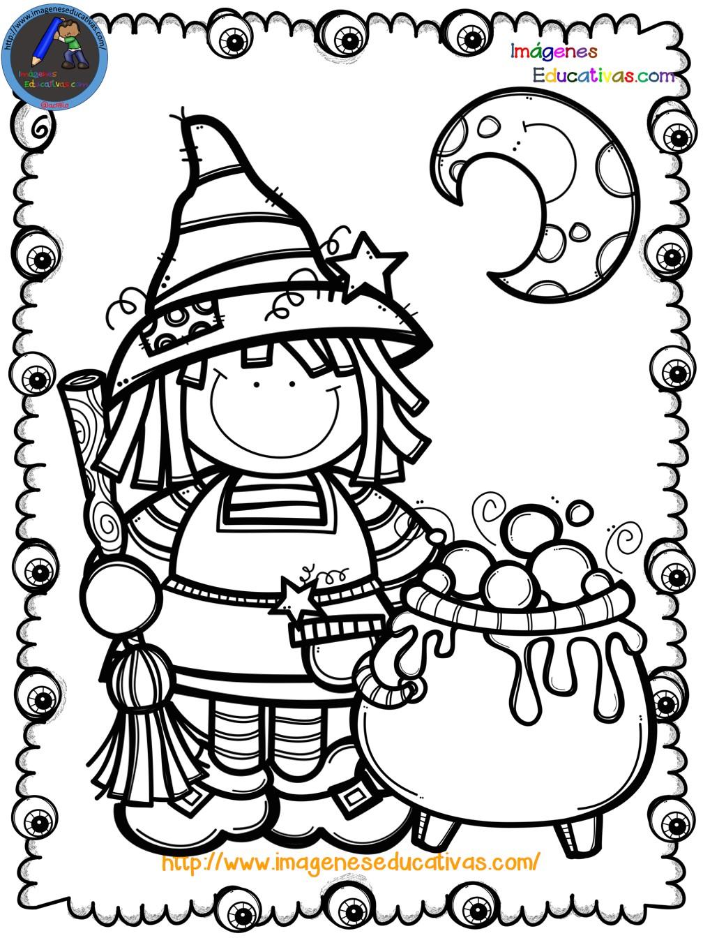 Mi libro para colorear en Halloween (9) - Imagenes Educativas