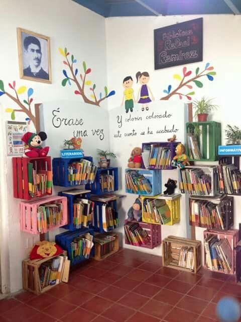 Biblioteca De Aula 3 Imagenes Educativas