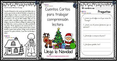 Cuentos Cortos De Navidad Para Trabajar Comprensión Lectora