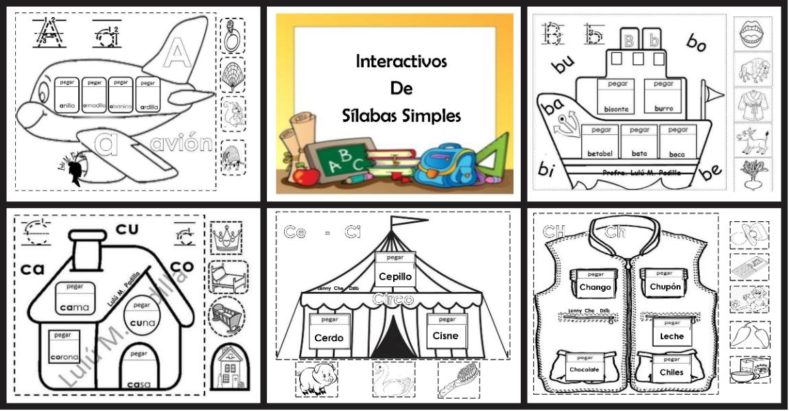 Leyendo Leyendo Disfruto Y Aprendo: Material Interactivo De Sílabas