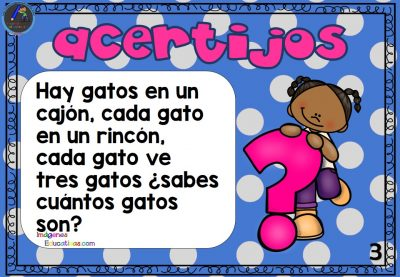 Acertijos fáciles de matemáticas para niños de primaria – Imagenes ...