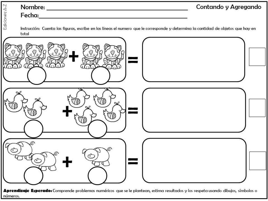 Nmeros Para Colorear Pensamiento Matematico Nmeros