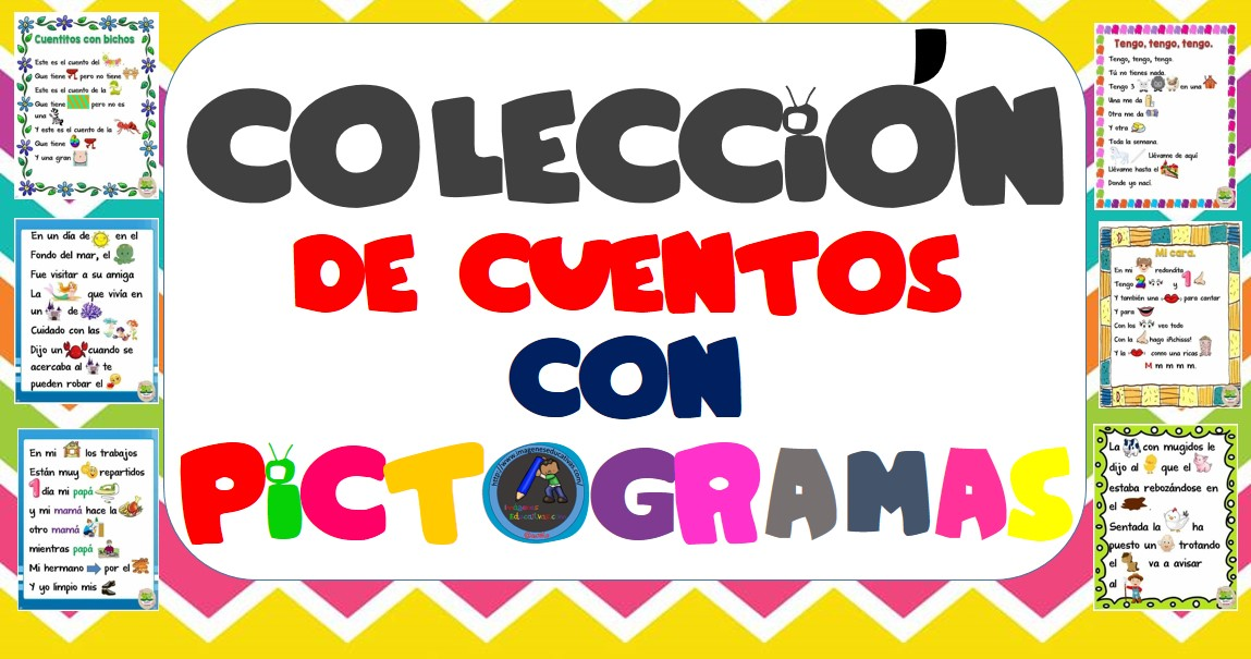 Colección De Cuentos Con Pictogramas Imagenes Educativas