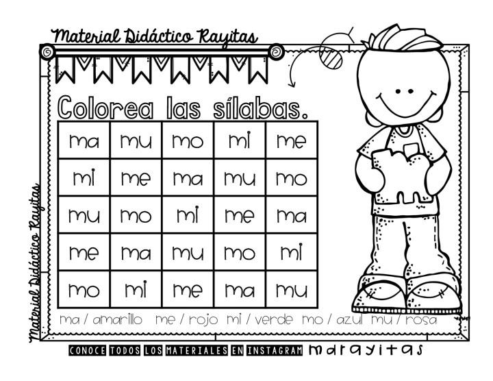 Sopas De Letras Para Practicar Las Silabas Simples Imagenes