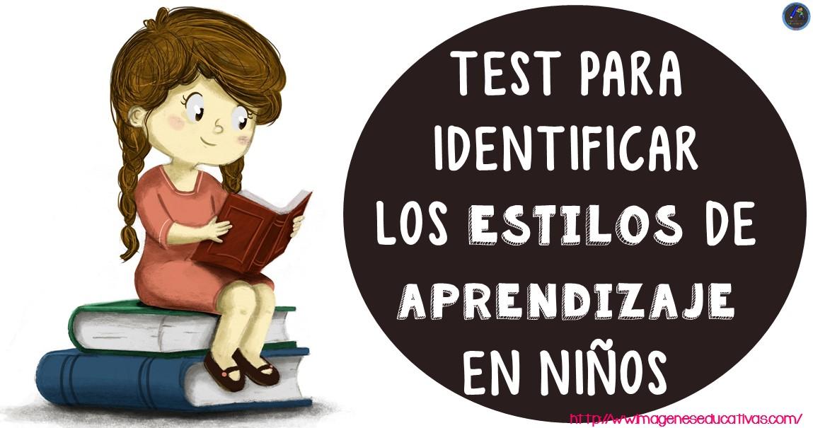 test para identificar estilos de aprendizaje en niños de primaria pdf