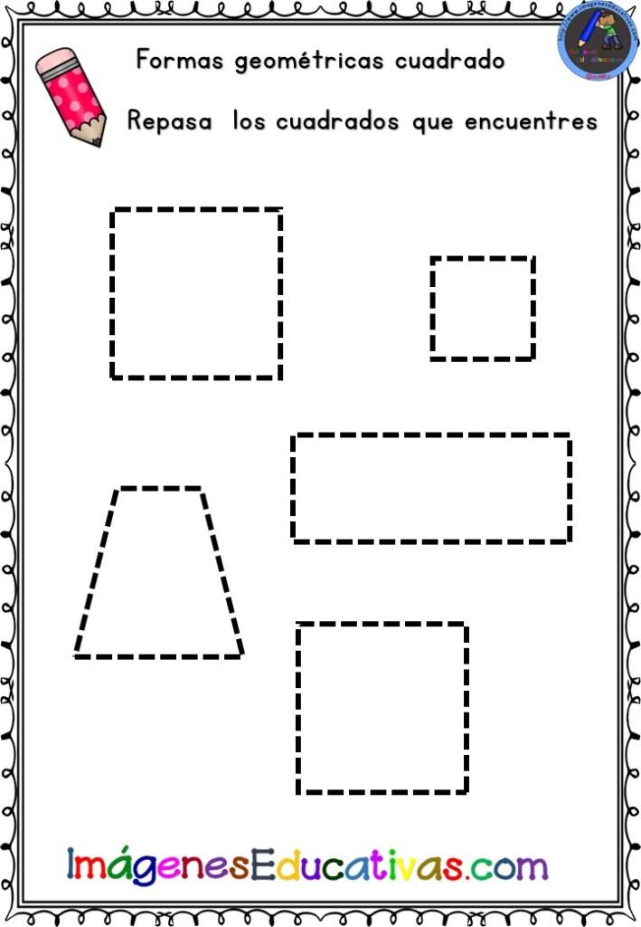 Cuaderno Para Trabajar Las Formas Geometricas Imagenes Educativas