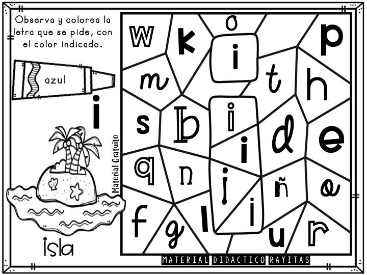 Librito Para Colorear Las Vocales Imagenes Educativas