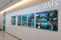 Delray Medical Center, FL – History Wall