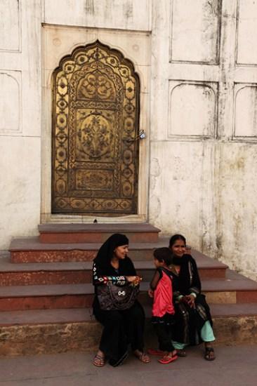 Lal Qil'ah, dans l'enceinte du fort rouge - Delhi, Inde 2012