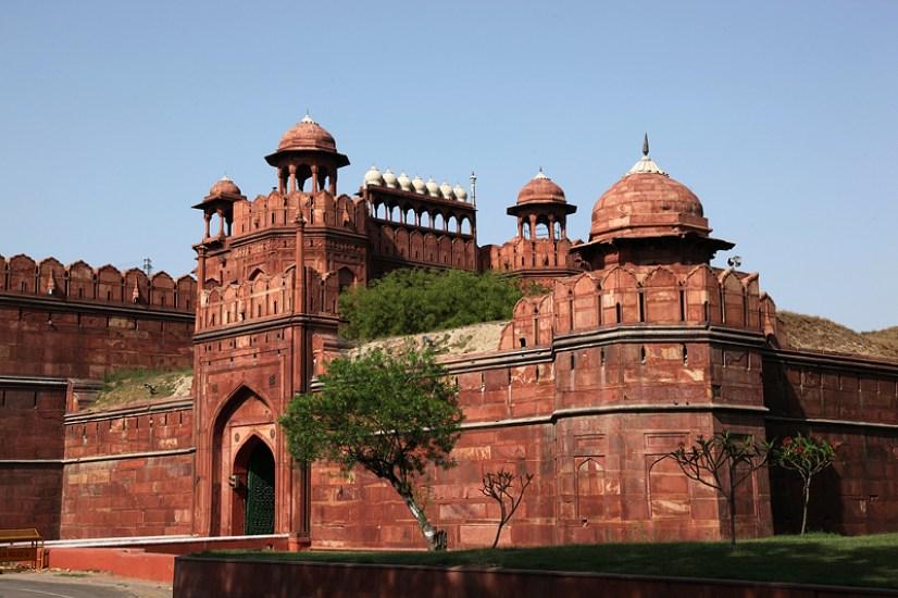 Lal Qil'ah, le fort rouge - Delhi, Inde 2012