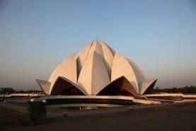 Le temple du Lotus (Bahá'í House of Worship) - Delhi, Inde 2012
