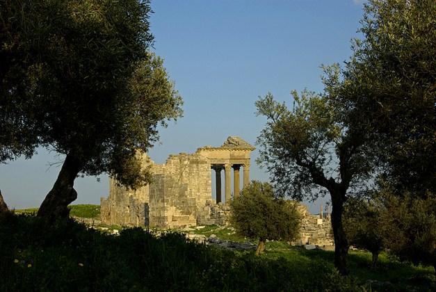 Le capitole, site antique de Dougga - Tunisie 2009
