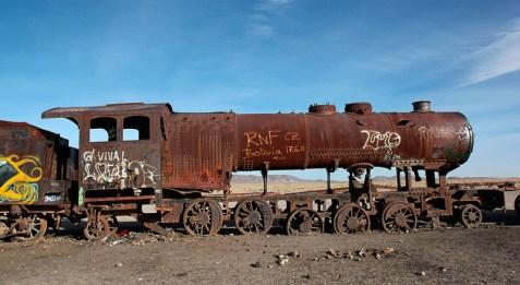 """""""El cementario de tren"""", Uyuni, Bolivie - 2014 - photo 12"""