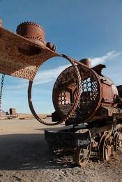 Le cimetière de trains d'Uyuni, Bolivie - 2014 - photo 13