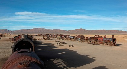 Le cimetière de trains d'Uyuni, Bolivie - 2014 - photo 16