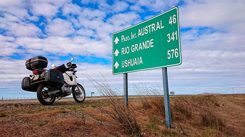 Amérique du Sud à moto : Le parcours du voyage