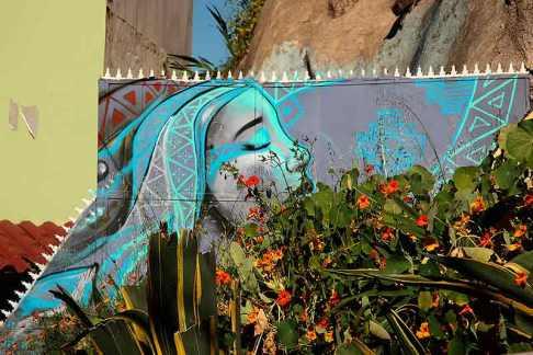 Fresque murale, Valpo, Chili - 2014