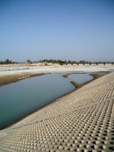 La rivière du dragon de Jade - Hotan, Xinjiang, Chine, 2005