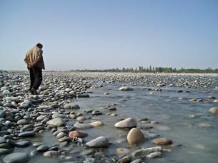 Ce n'était qu'une toute petite pièce, les quêtes solitaires reprennent - Hotan, Xinjiang, Chine, 2005