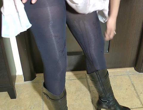 high school pantyhose