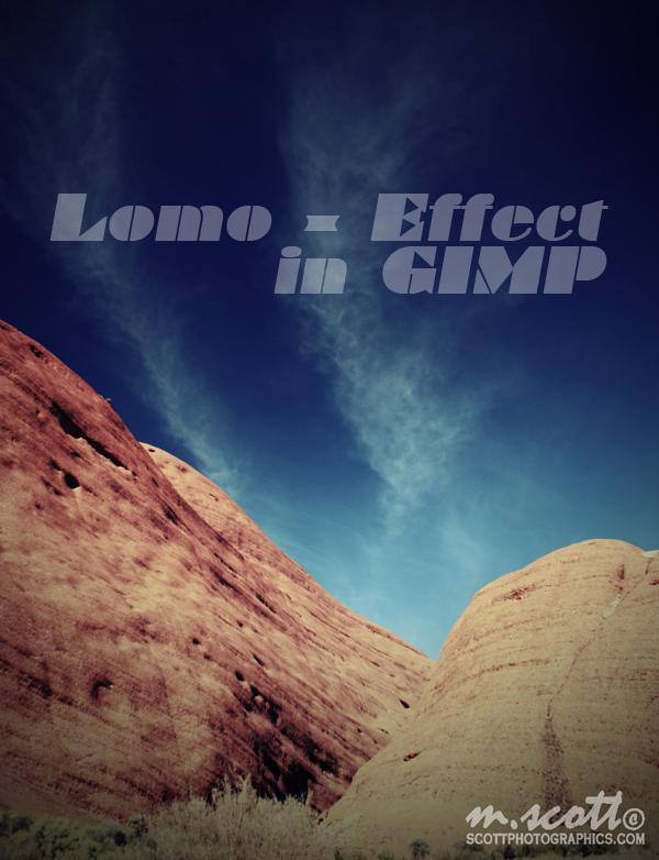 The Olgas, Kata Tjuta - Lomo Effect