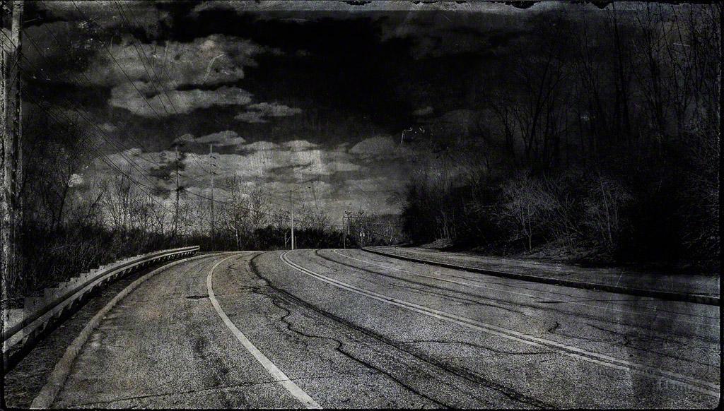 drive, dark, texture, road