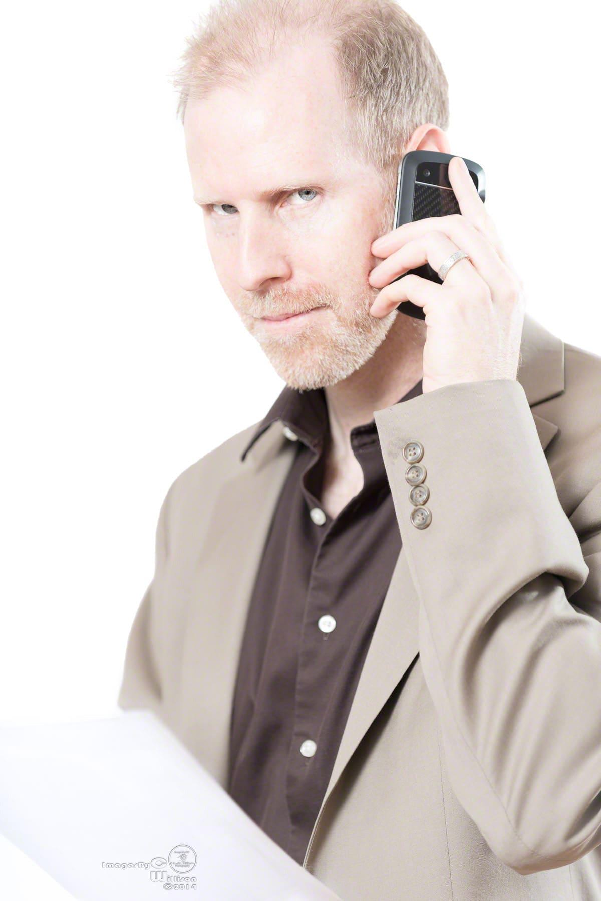 business, phone, david