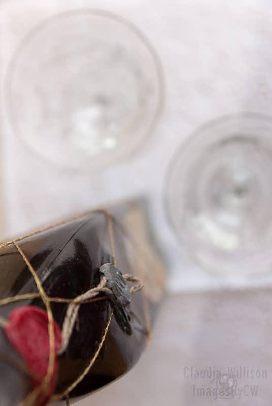 red, wine, vintage
