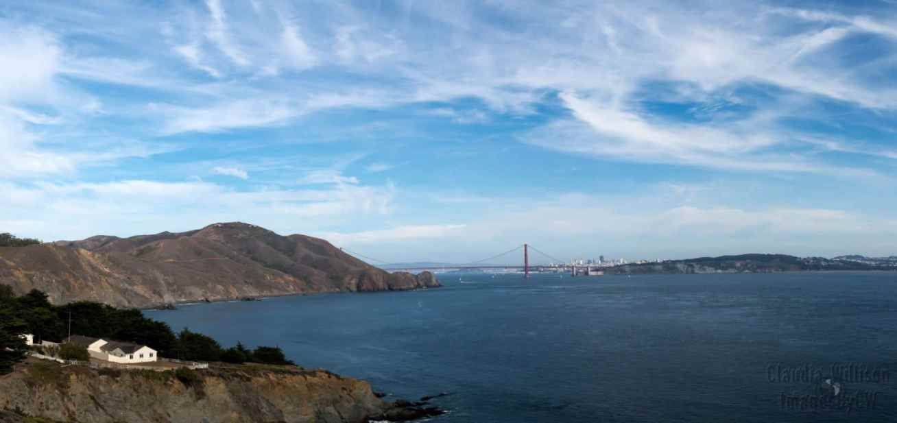 golden gate bridge, san francisco, panorama