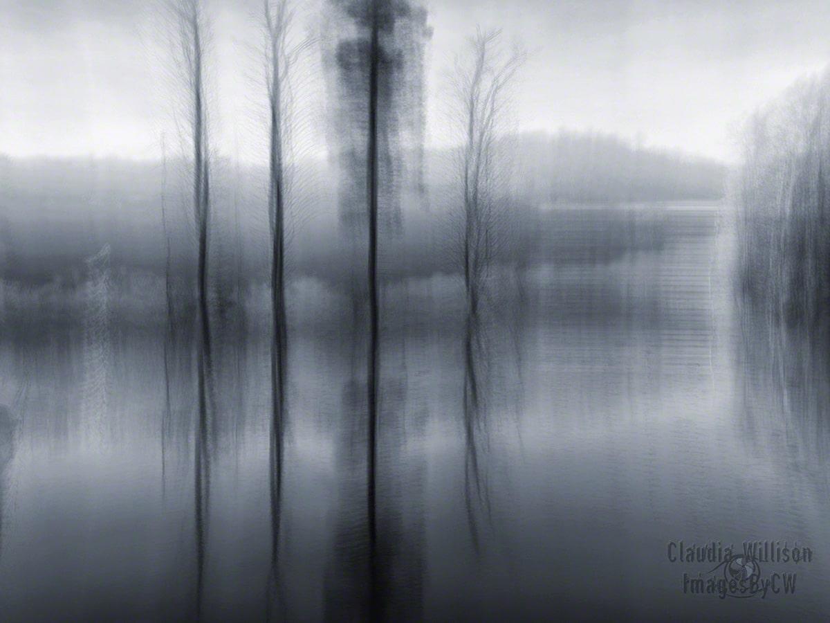 long exposure, motionblur, black white