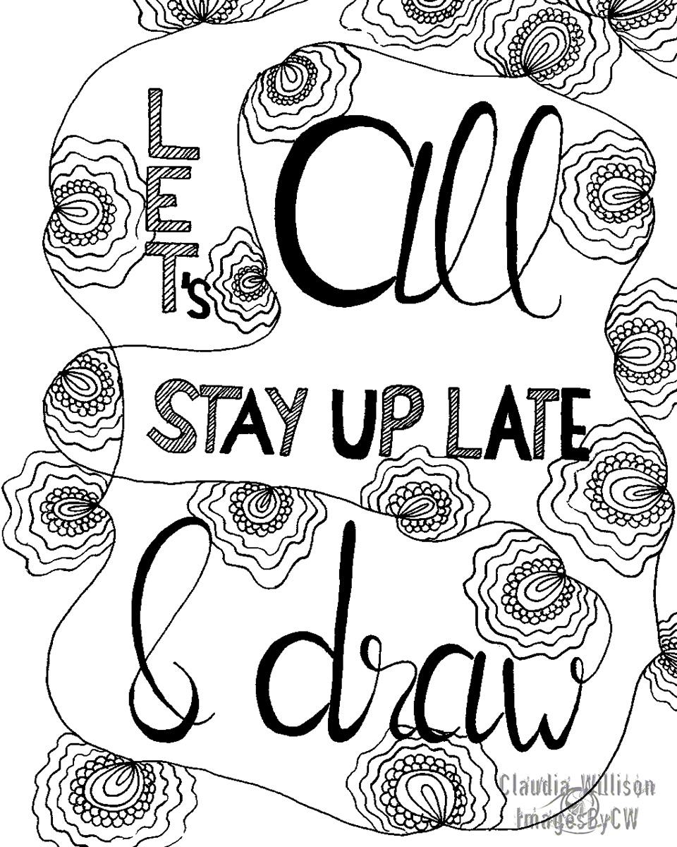 zendoodle, lettering, illustration, handlettering