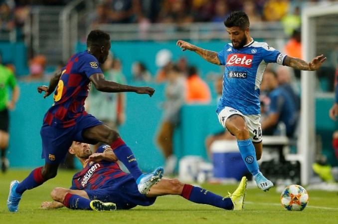 Image result for Predicted XI – Napoli vs Barcelona