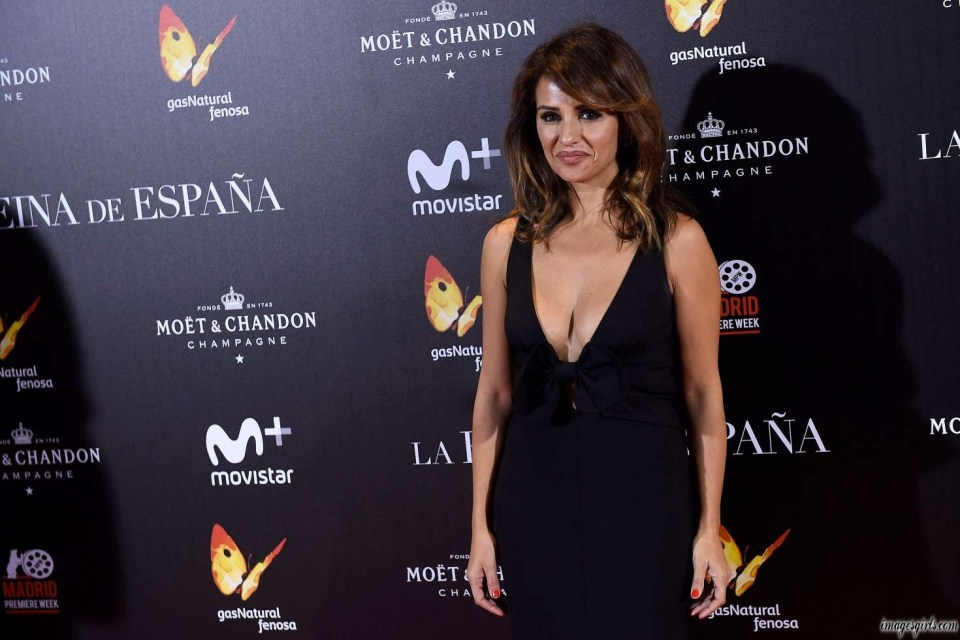 monica cruz the queen of spain premiere in madrid photos
