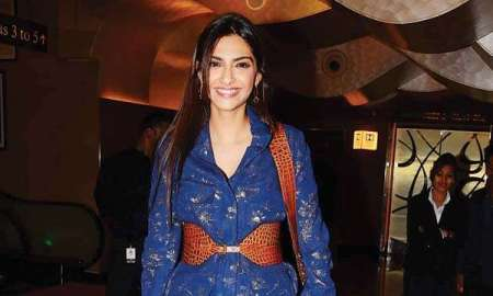 Sonam Kapoor rushes to Mumbai to shoot additional portions for Dutt biopic!