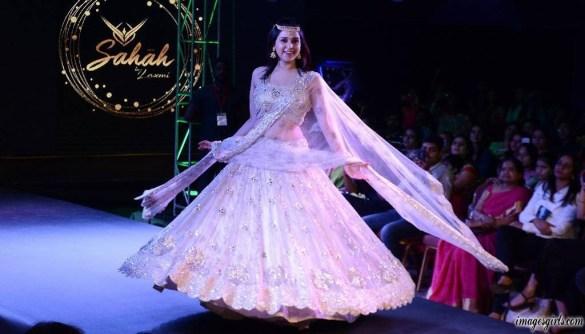 Mannara Chopra Pics At AP Fashion Week