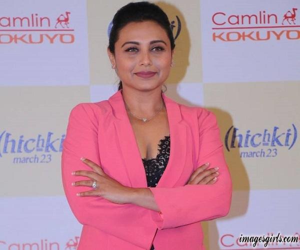 Rani Mukerji Photoshoot At Hichki Teachers Awards