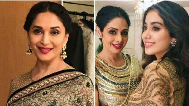 Janhvi Kapoor says 'Thank you Madhuriji', Instagram
