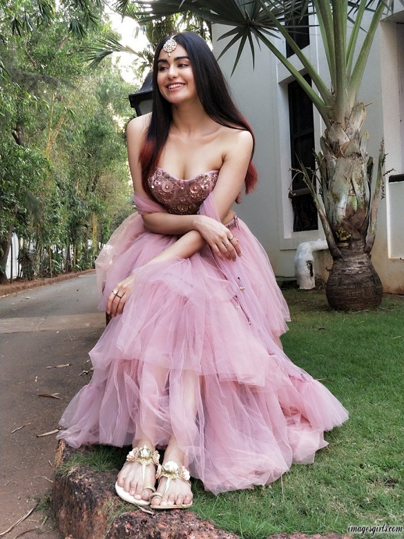 Adah Sharma is a popular name in South Cinema