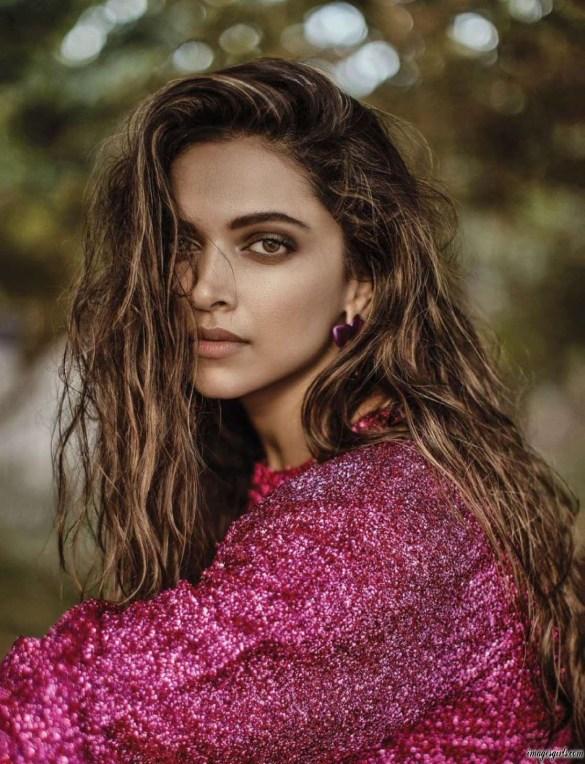 Deepika Padukone Modeling Photoshoot