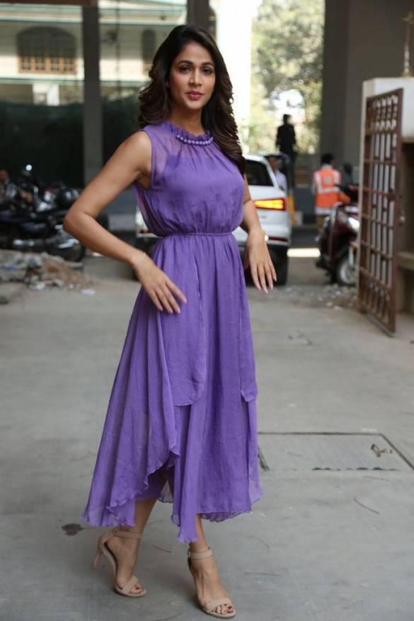 Lavanya Tripathi Photos At Intelligent Movie Interview